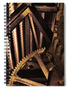 Rusty Ghosts Spiral Notebook