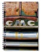 Rusty Gmc Truck Spiral Notebook
