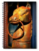 Rusty Horse Spiral Notebook