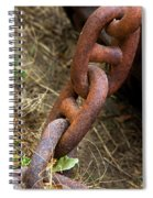 Rusty Links Spiral Notebook