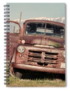 Rusty Old Dodge Spiral Notebook
