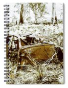Rusty Old Holden Car Wreck  Spiral Notebook