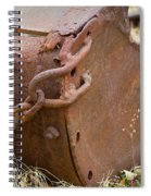 Rusty Old Ore Scoop Spiral Notebook