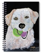 Rusty On Canvas Spiral Notebook