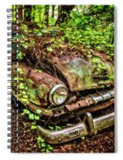 Rusty Plymouth Spiral Notebook