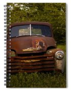 Rusty Red Chevy Spiral Notebook