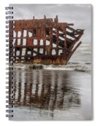 Rusty Reflections Spiral Notebook