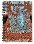 Rusty Rivets Spiral Notebook