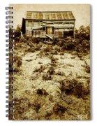 Rusty Rural Ramshackle Spiral Notebook