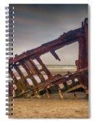 Rusty Shipwreck Spiral Notebook