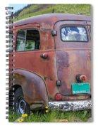 Rusty Suburban Spiral Notebook