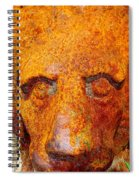 Rusty The Lion Spiral Notebook