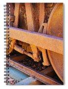 Rusty Wheels  Spiral Notebook