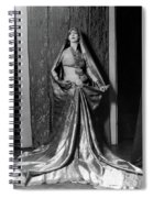 Ruth St Denis - Exotic Dancer Spiral Notebook