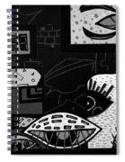Rutina 3 Spiral Notebook