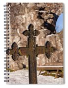 Rya Chapel Grave Marker Spiral Notebook