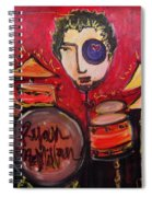 Ryan Macmillan And His Drums Spiral Notebook