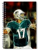 Ryan Tannehill - Miami Dolphin Quarterback Spiral Notebook