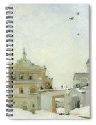 Ryazan Kremlin In Winter Spiral Notebook