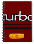 Saab 900 S Turbo Logo Spiral Notebook