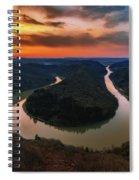 Saarschleife Spiral Notebook