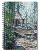 Sabah Hut In Malaysia 2016 Spiral Notebook