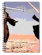 Saber Battle Spiral Notebook