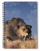 Saber-toothed Hunter Spiral Notebook
