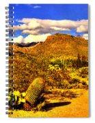 Sabino Canyon Panorama No. 1 Spiral Notebook