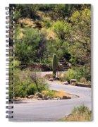 Sabino Canyon Road Spiral Notebook