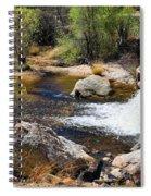 Sabino Creek Falls Spiral Notebook