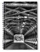 Sachs Bridge - Gettysburg - Bw-hdr Spiral Notebook