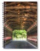 Sachs Bridge - Gettysburg - Vert.-hdr Spiral Notebook