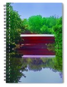 Sachs Covered Bridge - Gettysburg Pa Spiral Notebook