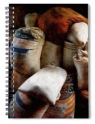 Sacks Of Feed Spiral Notebook