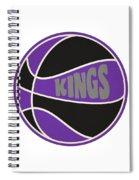Sacramento Kings Retro Shirt Spiral Notebook