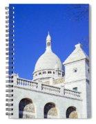 Sacre Coeur Closeup Spiral Notebook