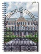 Sacre Coeur Spiral Notebook