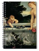 Sacred And Profane Love Spiral Notebook