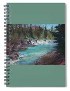 Sacred Dancing Cascade Spiral Notebook