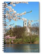 Sacred Heart And Branch Brook Cherry Blossoms  Spiral Notebook