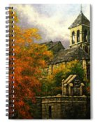 Sacred Heart Chapel Paris Spiral Notebook