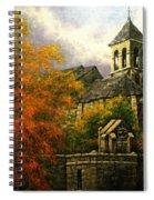 Sacred Heart Chapel Paris Spiral Notebook