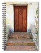 Sacred Heart Door Spiral Notebook