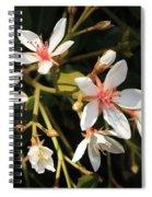 Sacred Heart Flowers Spiral Notebook