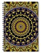 Sacred Mandala Spiral Notebook