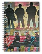 Sacrifice For Freedom Spiral Notebook