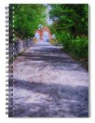 Sacromonte Abbey Entrance Spiral Notebook