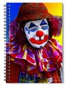 Sad Clown Spiral Notebook