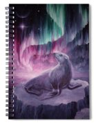 Sad Lonely Seal Spiral Notebook